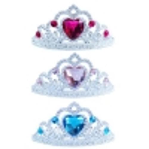 Princess comb tiara with gems PH-022