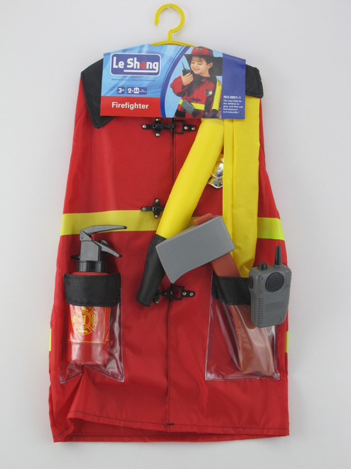 Firefighter Outfit Play Set