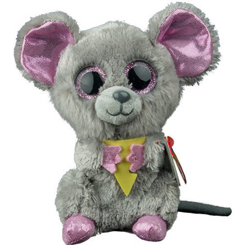 Beanie Boos Regular - Squeaker The Mouse With Cheese