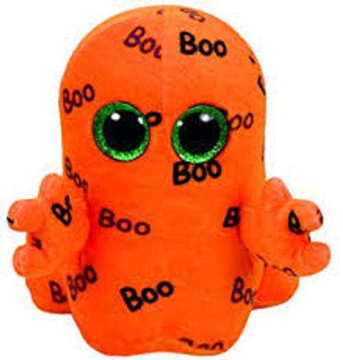 Beanie Boos Regular - Halloween Ghoulie Orange Ghost