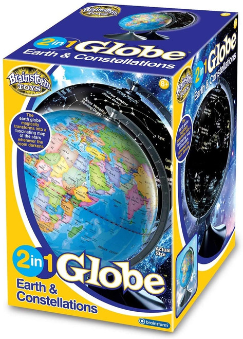 2 In 1 Globe Earth Constellations