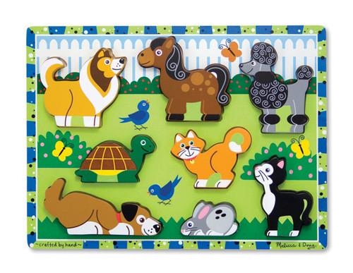 Melissa & Doug Pets Chunky Puzzle