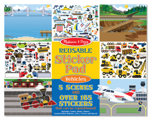 M&d  reusable stickers  vehicles