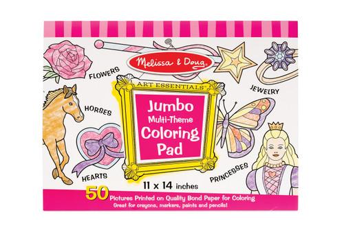 Melissa & Doug Jumbo Colouring Pad Pink