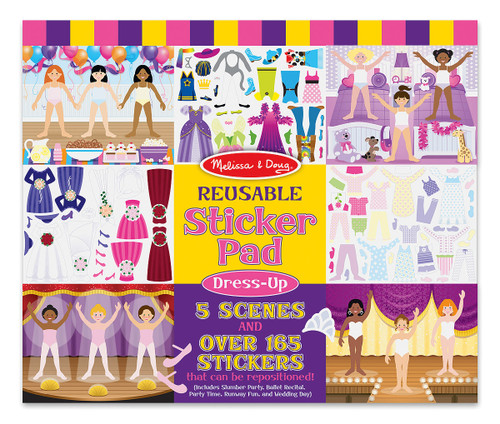 M&d  reusable sticker pad  fashion