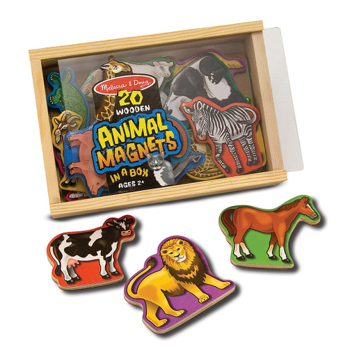 Melissa & Doug Magnetic Wooden Animals