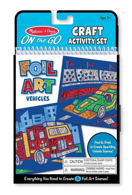 M&d on the go - foil art vehicles