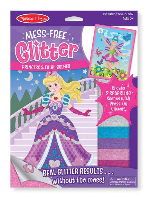 M&d mess free glitter - princess & fairy scenes