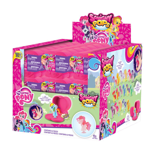 SQUISHY POPS - MY LITTLE PONY S3 CAPSULE