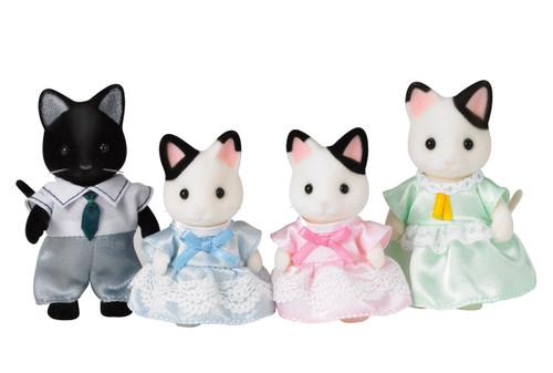 Sf- tuxedo cat family