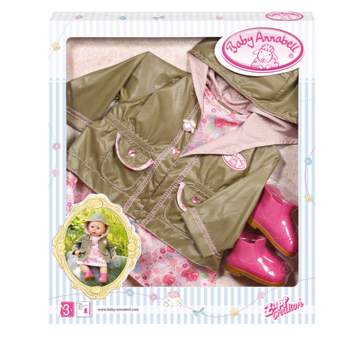 BABY ANNABELL DELUXE SET - LETS GO OUT
