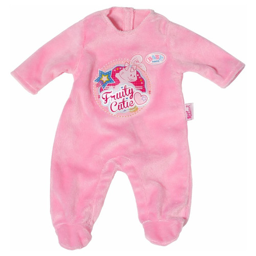 BABY BORN ROMPER OUTFIT - PINK