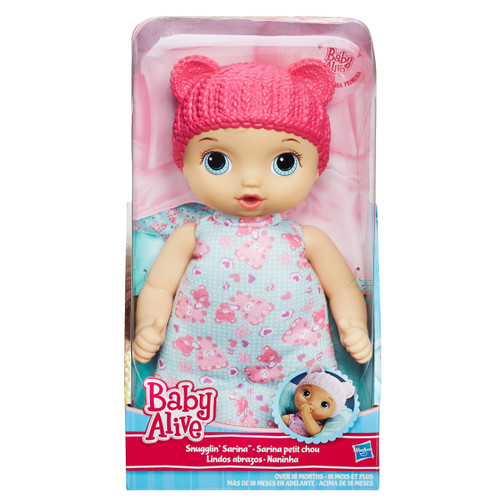 BABY ALIVE SNUGGLIN SARINE - PINK
