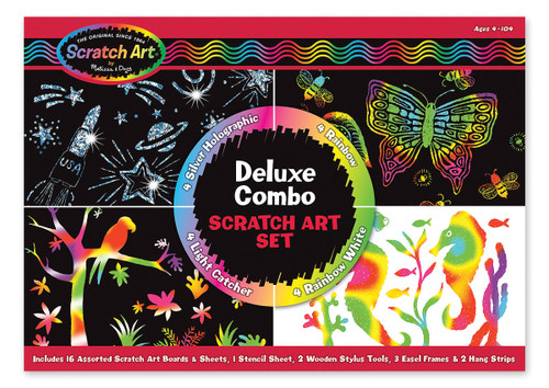 M&d scratch magic deluxe kit