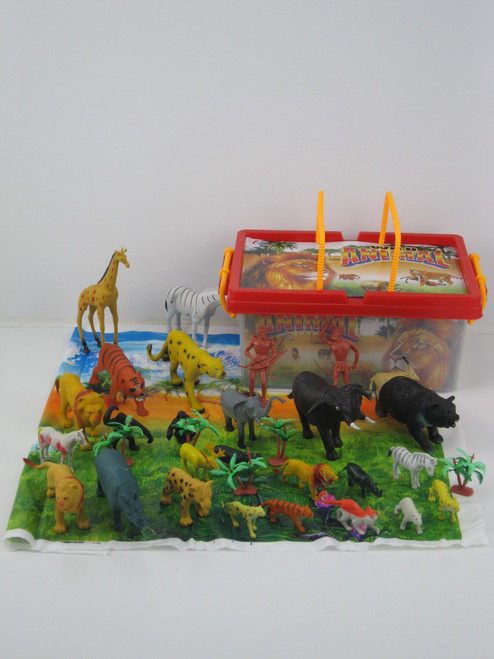 Carry Box Of Jungle Animals