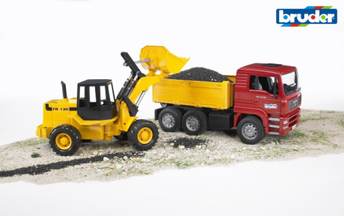 BRUDER - 1:16 MAN TGA CONST TRUCK W/ARTICULATED