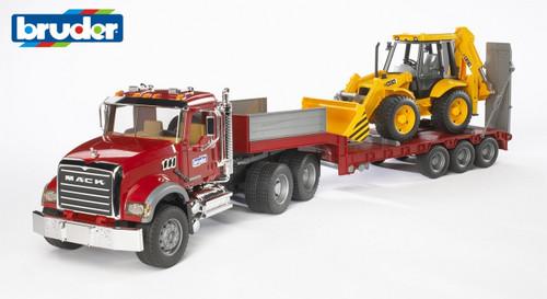 Bruder - Mack Granite Truck + Jcb 4ch