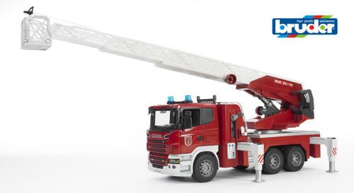 BRUDER - SCANIA FIRE TRUCK