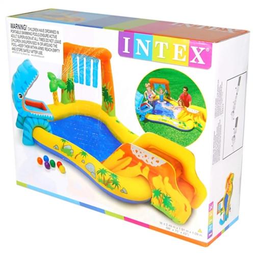 INTEX PLAY CENTRE - DINOSAUR