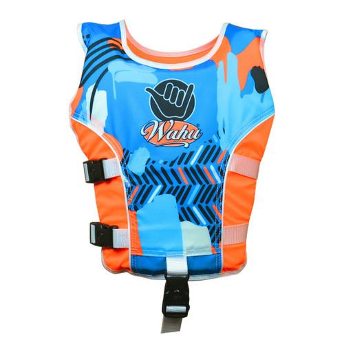 Wahu Swim Vest Medium 20 - Under 30 kg - Orange