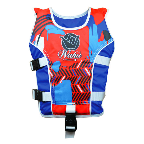 Wahu Swim Vest Medium 20 - Under 30 kg - Blue