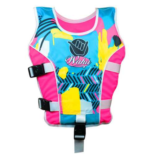 Wahu Swim Vest Medium 20 - Under 30 kg - Pink