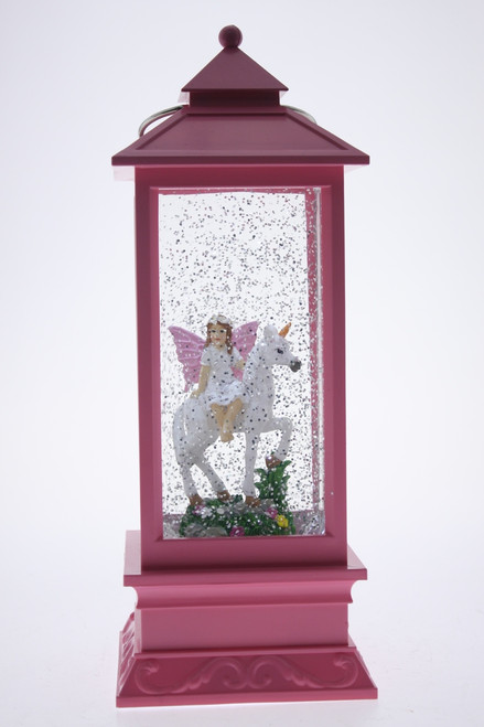PINK LANTERN WITH UNICORN & FAIRY
