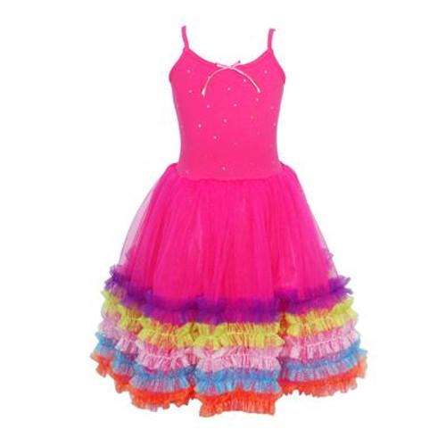 Fiesta dress size 3/4 - hot pink