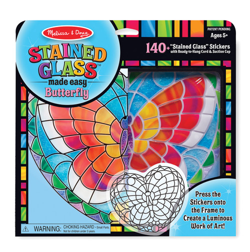 M&d stained glass made easy - butterfly