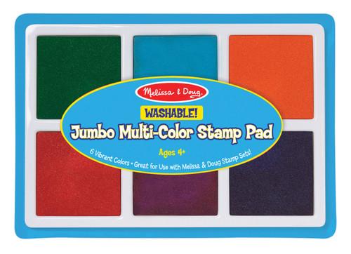 M&d jumbo multi colour stamp pad