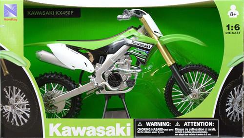 1:6 Scale Kawasaki KX450X Dirt Bike