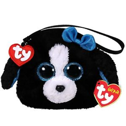 Ty Gear - Tracey The Black Dog Wristlet