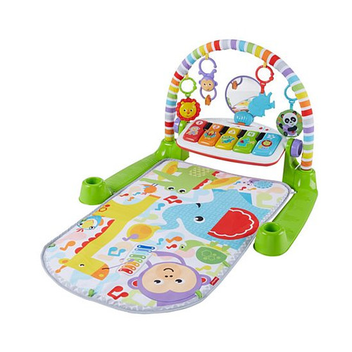 Fisher Price Deluxe Kick n Play Piano Gym - Green