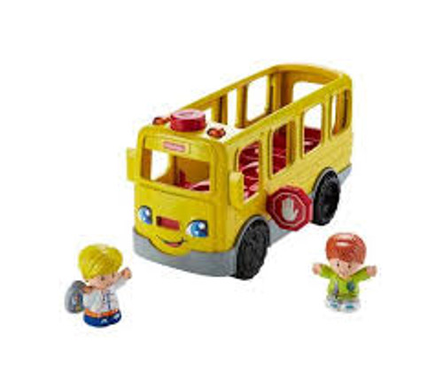 FISHER PRICE LARGE VEHICLE - SIT WITH ME SCHOOL BUS