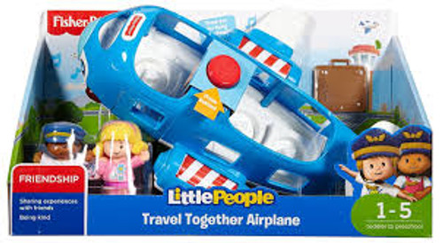 Fisher Price Large Vehicle - Travel Together Aiplane