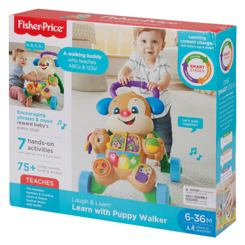 FISHER PRICE LAUGH & LEARN BABY WALKER - BLUE