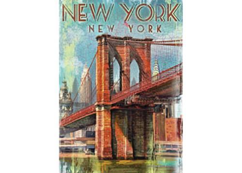 RAVENSBURGER - RETRO NEW YORK PUZZLE 1000 PCE