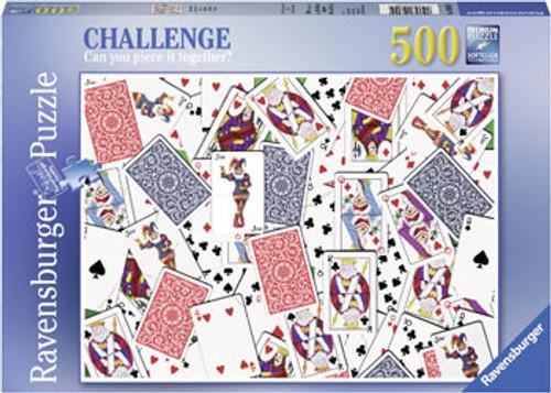 RAVENSBURGER - 52 SHUFFLE PUZZLE 500 PCE