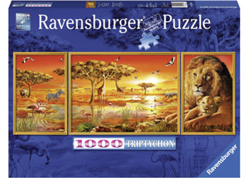 RAVENSBURGER - AFRICAN MAJESTY PUZZLE 1000 PCE