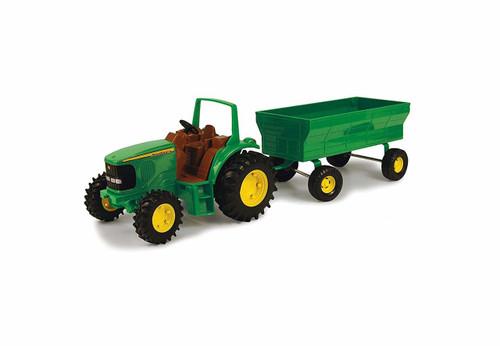 John Deere Tractor W/flarebox Wagon 1:16