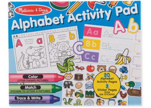 M&d - alphabet activity pad