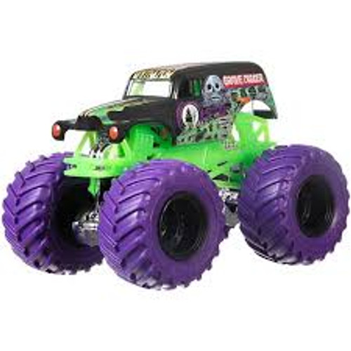 Hot wheels monster jam 1:64 - grave digger DWM00