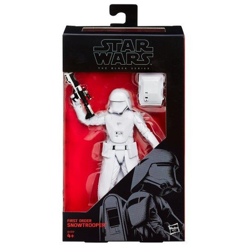 SW E7 6 INCH FIGURES - FIRST ORDER SNOWTROOPER # 12