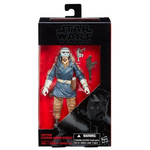 Sw E7 Black Series 6 Inch Fig - Captain Cassian Andor # 23