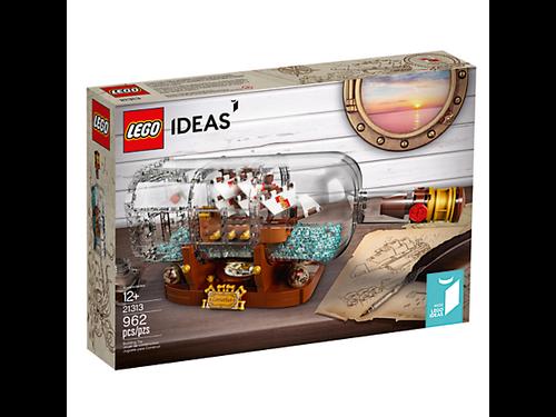 LEGO IDEAS - SHIP IN A BOTTLE