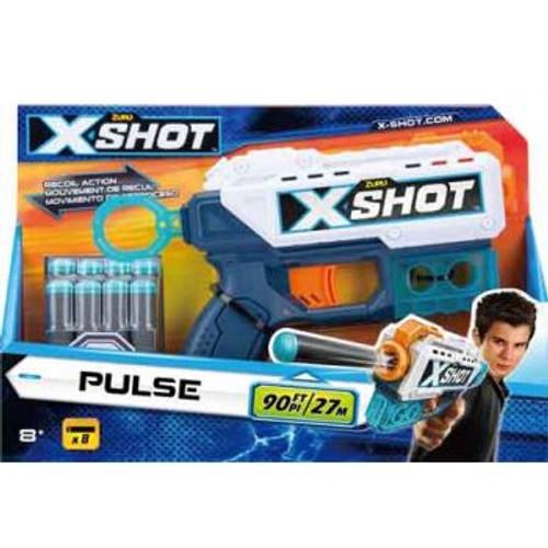 Zuru Xshot Excel - Pulse Recoil Action (Includes 8 Darts)
