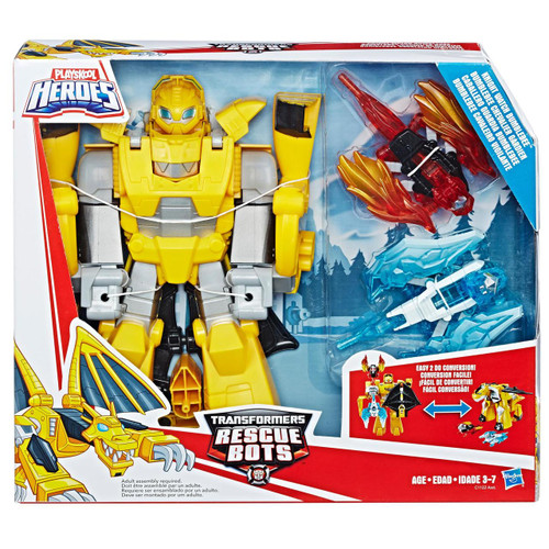 TRANSFORMERS RESCUE BOTS KNIGHT WATCH BUMBLEBEE