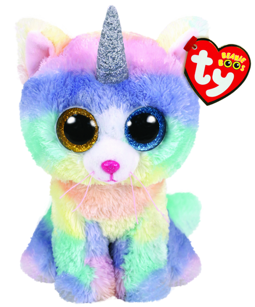 Beanie Boos Regular - Heather The Cat With Horn