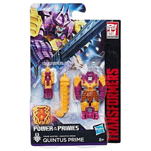 Transformer power of the primes - quintis prime