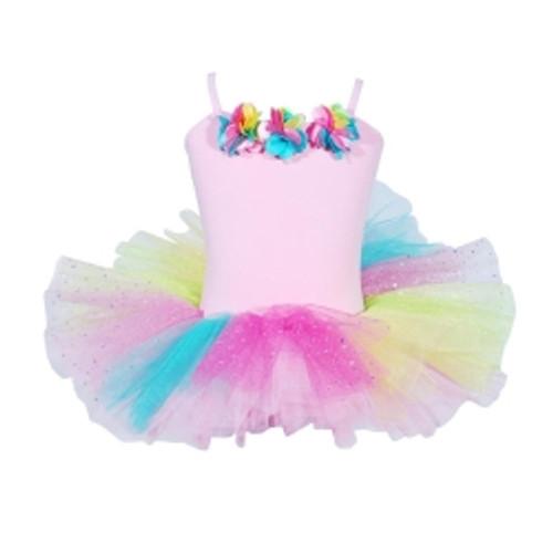 Ballerina bouquet tutu size 5/6 - pale pink